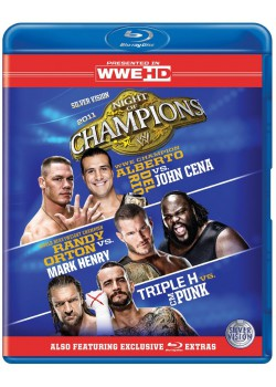 WWE - Night Of Champions 2011 (Blu-Ray)