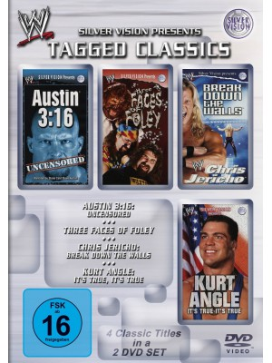 WWE - Austin 3:16 Uncensored / Three Faces Of Foley / Break Down The Walls / It's True It's True (2x DVD)