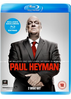 WWE - Ladies And Gentlemen, My Name Is Paul Heyman (2x Blu-Ray)