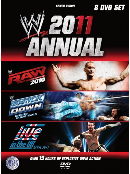 WWE - 2011 Annual - Best Of RAW 2010 - Best Of Smackdown 2009-2010 - Live In The UK April 2011 (8x DVD)