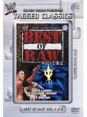 WWE - The Best Of Monday Night RAW Vol. 1 & 2 (2x DVD Tagged Classics)
