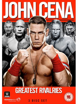 WWE - John Cena - Greatest Rivalries (3x DVD)