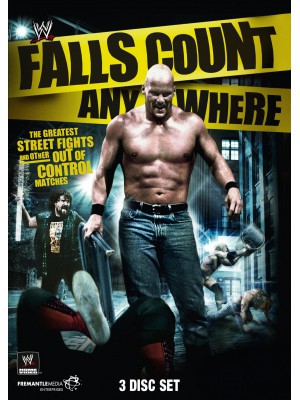 WWE - Falls Count Anywhere (3x DVD)