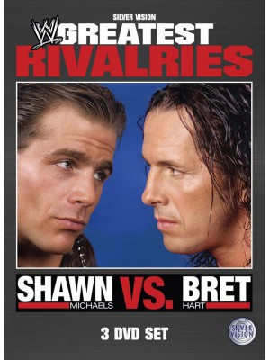 WWE - Greatest Rivalries - Shawn Michaels vs. Bret The Hitman Hart (3x DVD)