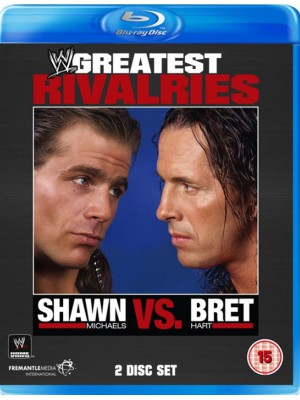 WWE - Greatest Rivalries - Shawn Michaels vs. Bret The Hitman Hart (2x Blu-Ray)