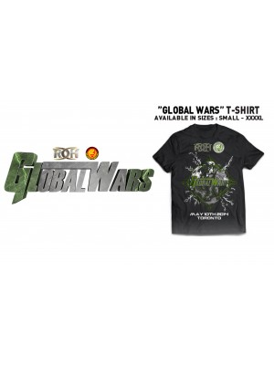 ROH (Ring Of Honor) - Global Wars 2014 Even Shirt (T-Shirt)