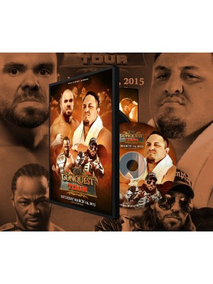 ROH (Ring Of Honor) - Conquest Tour Chicago Ridge 2015 (DVD)
