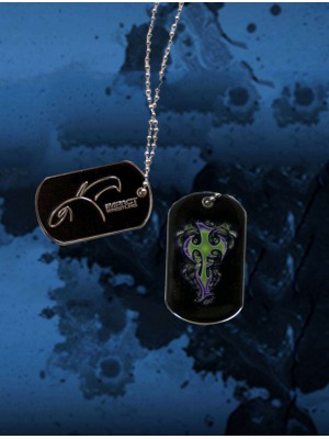 TNA IMPACT WRESTLING - Jeff Hardy - Spin Cross Enigma (Dog Tag)