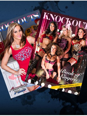 TNA IMPACT WRESTLING - Knockouts - American Made & Book Of Lingerie (Buch)