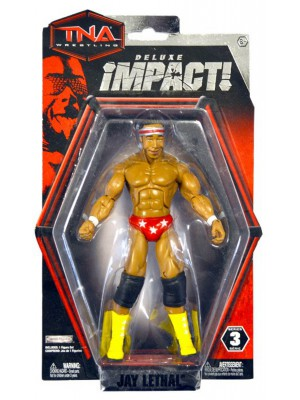 TNA IMPACT WRESTLING - Jay Lethal - Deluxe Action Figure (Figur / Series 3)