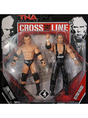 TNA IMPACT WRESTLING - Eric Young & Kevin Nash - Cross The Line - Deluxe Action Figure (Figur / Series 4)