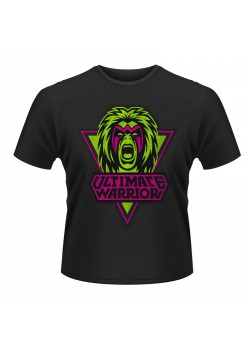 WWE - The Ultimate Warrior - Head Scream (Retro T-Shirt)