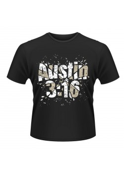 WWE - Stone Cold Steve Austin - Shattered Glass 3:16 (Retro T-Shirt)