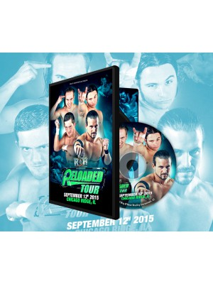 ROH (Ring Of Honor) - Reloaded Tour 2015 - Dearborn (DVD)