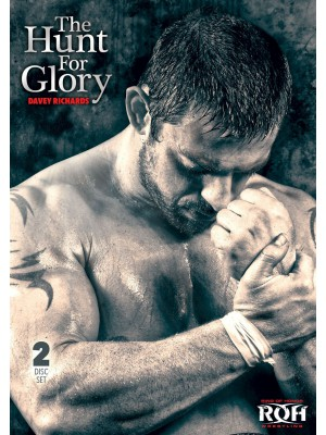 ROH (Ring Of Honor) - Davey Richards (The American Wolves) - The Hunt For Glory (2x DVD)