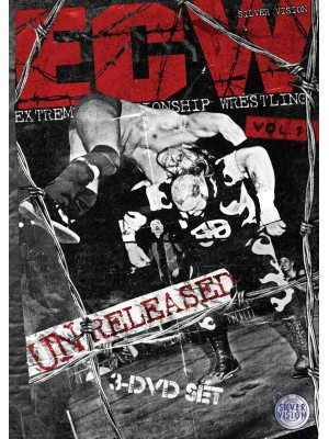 WWE - ECW Unreleased Vol. 1 (3x DVD)