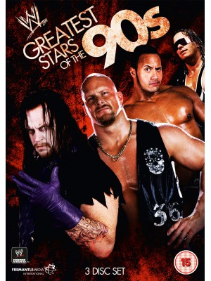 WWE - The Greatest Stars Of The 90s (3x DVD)