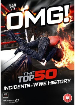 WWE - OMG The Top 50 Incidents In WWE History (3x DVD)