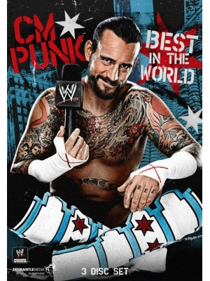 WWE - CM Punk - The Best In The World (3x DVD)