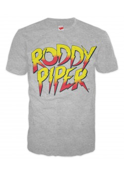 WWE - Rowdy Roddy Piper - Classic Logo (Retro T-Shirt)