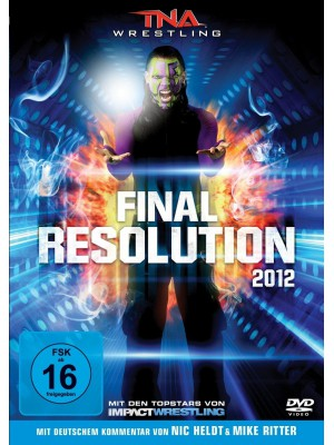 TNA - Final Resolution 2012 (2x DVD)