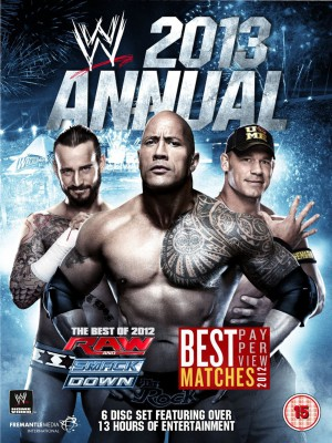 WWE - Annual 2013 - Best Of Raw And Smackdown & PPV Matches 2012 (6x DVD)