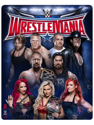 WWE - Wrestlemania 32 (2x Blu-Ray - Limited Steelbook Edition)