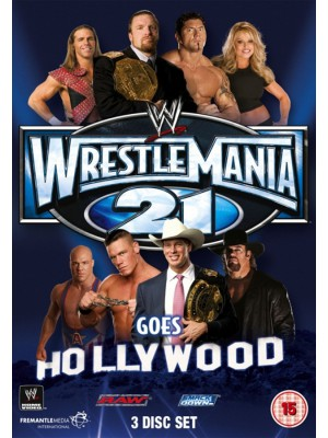 WWE - Wrestlemania 21 (3x DVD)