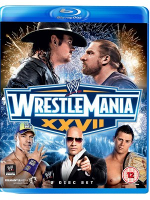 WWE - Wrestlemania 27 (2x Blu-Ray)
