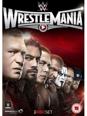 WWE - Wrestlemania 31 (3x DVD)