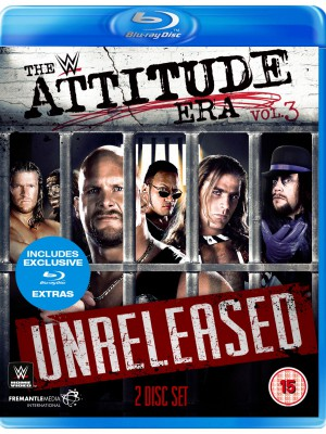 WWE - The Attitude Era Vol. 3 Unreleased (2x Blu-Ray)