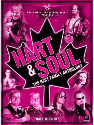 WWE - Hart & Soul - The Hart Family Anthology (3x DVD)
