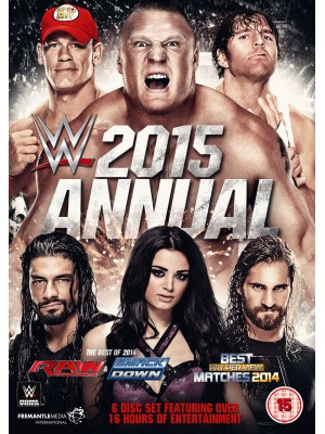 WWE - Annual 2015 - Best Of Raw And Smackdown & PPV Matches 2014 (6x DVD)