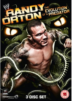 WWE - Randy Orton - The Evolution Of A Predator (3x DVD)