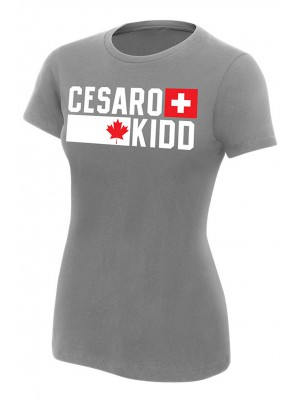 WWE - Cesaro & Tyson Kidd - Established Est. 12.01.14 (Girlie T-Shirt)