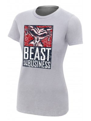 WWE - Brock Lesnar & Paul Heyman - Beast For Business (Girlie T-Shirt)
