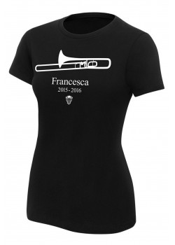 WWE - The New Day - Francesca The Trombone 2015 - 2016 (Authentic Womens Girlie T-Shirt)