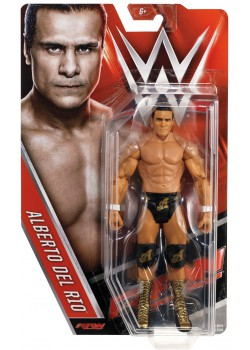 WWE - Alberto Del Rio - Mattel Basic Series 63 - RAW (Official WWE Figure)