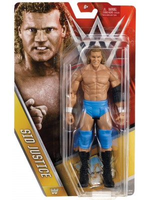 WWE - Sid Justice - Mattel Basic Series 63 - Legends (Official WWE Figure)