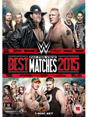 WWE - The Best PPV Pay Per View Matches 2015 (3x DVD)