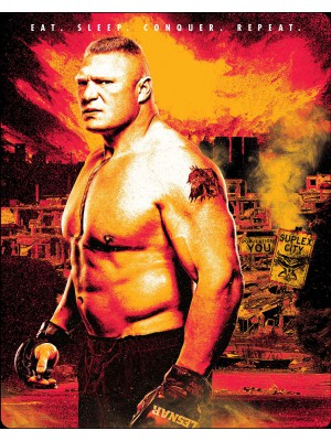 WWE - Brock Lesnar - Eat Sleep Conquer Repeat (2x Blu-Ray Limited Edition Steelbook)