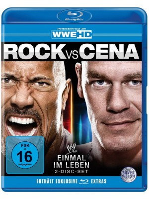 WWE - Rock vs. Cena - Once In A Lifetime (2x Blu-Ray)