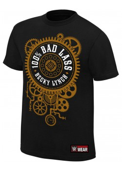 WWE - Becky Lynch - 100% Bad Lass (Authentic T-Shirt)