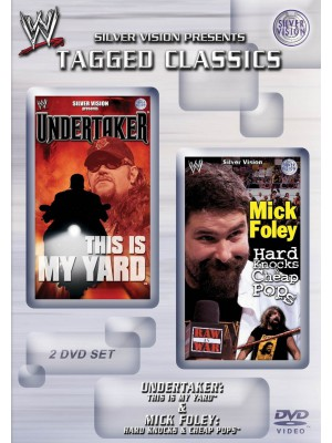 WWE - The Undertaker - This Is My Yard & Mick Foley - Hard Knocks & Cheap Pops (2x DVD Tagged Classics)