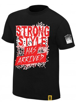 WWE - Shinsuke Nakamura - The King Of Strong Style Has Arrived Black NXT (Authentic T-Shirt)