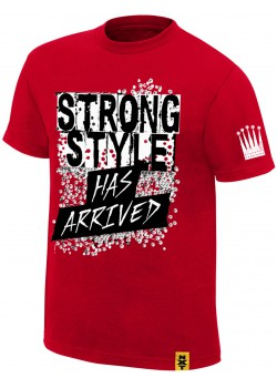 WWE - Shinsuke Nakamura - The King Of Strong Style Has Arrived NXT (Authentic T-Shirt)