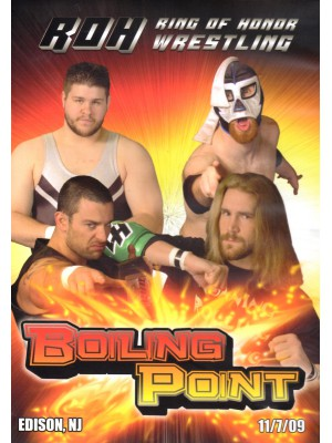 ROH (Ring Of Honor) - Boiling Point 2009 (DVD)
