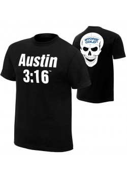 WWE - Stone Cold Steve Austin - Austin 3:16 (Official Retro T-Shirt)