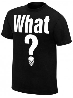 WWE - Stone Cold Steve Austin - What? (Official Retro T-Shirt)