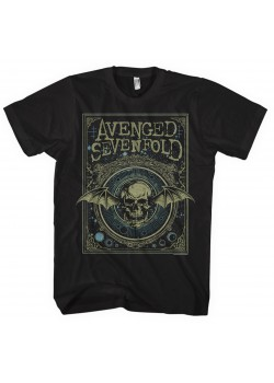 Avenged Sevenfold - Ornate Death Bat (T-Shirt)